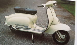 Vintage Vespa and Lambretta restorations and service