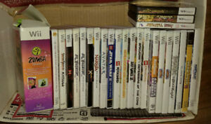 Lot of 22 Wii Games 1 3DS and 2 DS