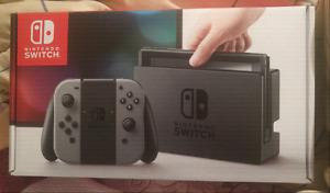 New Nintendo Switch with Legend of Zelda BOTW