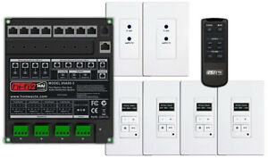 Leviton HAI HiFi2 Multi Room Audio System, 4 Source, 4 Zone Kit