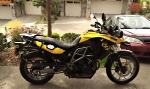 2012 BMW F650GS Twin (factory lowered)