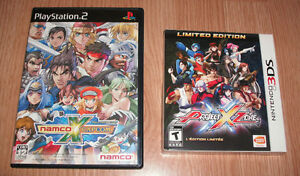 Namco X Capcom (PS2) and Project X Zone Limited Edition (3DS)