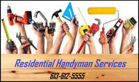 Residential Handyman Services 613-612-5555