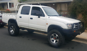 hilux duel cab 4x4 5spd Pipers River George Town Area Preview