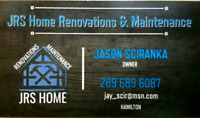 JRS HOME RENOVATIONS AND MAINTENANCE