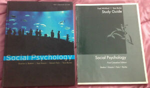 Social Psychology 1st Canadian Edition