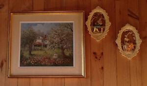 """TABLEAU ANNA JALAVA PEINTURE A L'HUILE 29""""1/2 X 26""""1/2 Gatineau Ottawa / Gatineau Area image 1"""