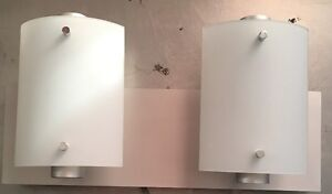 2 APPLIQUES MURALES / 2 WALL SCONCE