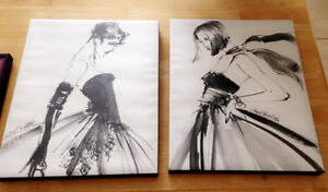 Fashionista Matching Canvases Cornwall Ontario image 1