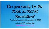 Rise Strong Revolution- Kick 2017 off on the right foot!