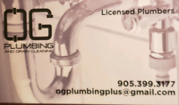 Licensed Plumber available NOW!!