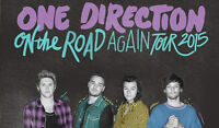 2 Lower Level One Direction OTRA Toronto Tickets!!