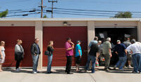 In search of storage locker auctions