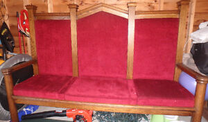Deacons Bench, Church Pew, Dining Bench