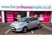 Ford Fiesta 1.6TDCi 2009MY Titanium*GOOD/BAD CREDIT CAR FINANCE*