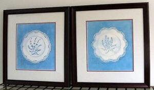 Two Quality Framed Prints by Mary Beth Zeitz - Great Condition