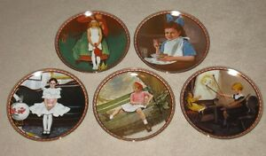 Rockwell's A Mind of Her Own Plate Series by Knowles