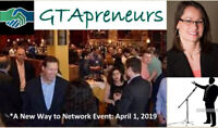 GTApreneurs  *A New Way to Network Event