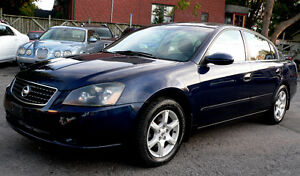 2005 Nissan Altima 2.5 automatic***low mileage and rust free
