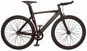 New Fixed Gear Bicycle, Fixie, Track Bike - Jet Black