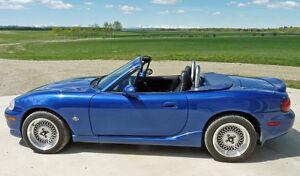 1999 Mazda MX-5 Miata 10th Anniversary Edition Convertible