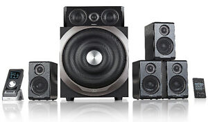 Edifier s550 5.1 surround sound speakers and sub