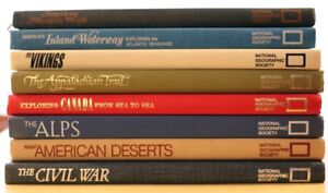 National Geographic - 8 hardcover books