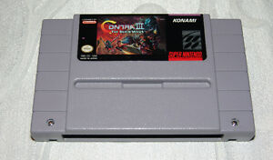 Contra III for the SNES