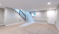 BASEMENT renovations. Ceilings, floors, bathrooms. Call now!
