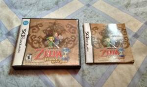 Legend of Zelda Phantom Hourglass Case and Manual Only