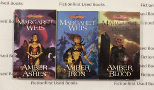 """Dragonlance: The Dark Disciple Trilogy""  by: Margaret Weis"