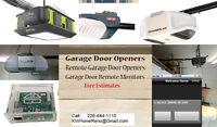 Garage Door Openers - Remote Garage Door Opener & Monitor
