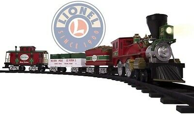 LIONEL NORTH POLE CENTRAL CHRISTMAS TREE TRAIN SET *DISTRESSED PKG
