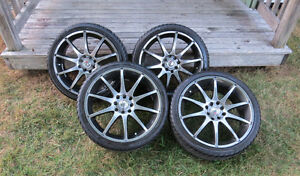 17 Inch Rims and Tires off 2005 Honda Civic