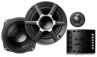 "Polk Audio MM5251 5.25"" MM 2 Way Component CAR & MARINE Speakers  NEW"