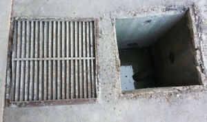 wanted catch basin cover iron metal grate wanted