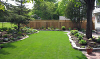 Quality Sod Installers  - Book Today ! 416-454-2149