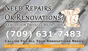Need Some Handyman Renovations Done, Give Us A Call St. John's Newfoundland image 10