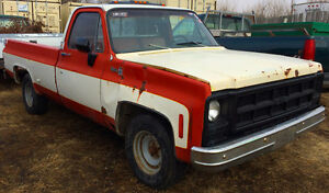 GMC truck - Runs, drives, stops, amazing deal!! Rat rod parts!
