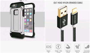 High quality  iPhone 7  case,  and Lightning to USB Cable