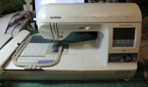 Sewing/Embroidery Machine with all Supplies