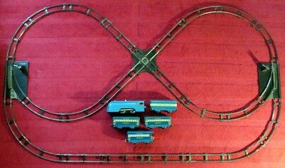 Louis Marx Wind-Up Passenger Train Set with Track and Switches in Good Condition for sale  Austin