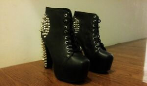 Jeffery Campbell Spiked Lita Boots