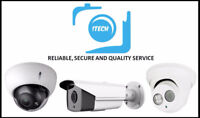 security camera installation , cabling