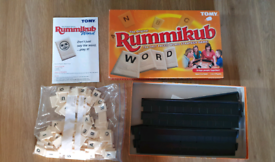 The Original WORD Rummikub Game By Goliath - Vintage 1995. Complete vg