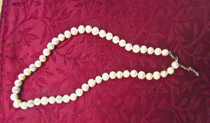 Custom Designed Double Knotted Pearl Necklace $ Lowered