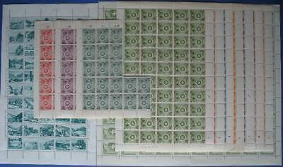 s259) Schweiz über 500 Probedrucke 1945 - 1957 ** MNH Proofs test stamps WIFAG