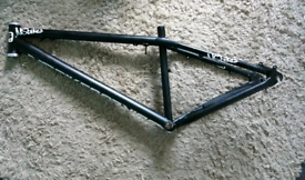 NS Hardtail mountain jump bike frame (black)