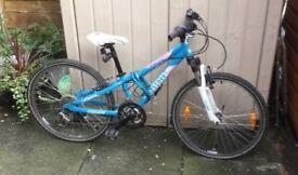 "Scott Contessa jr bike 24"" wheels , 18 gears"