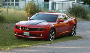 2012 Chevrolet Camaro RS with Racing Stripes Coupe (2 door)